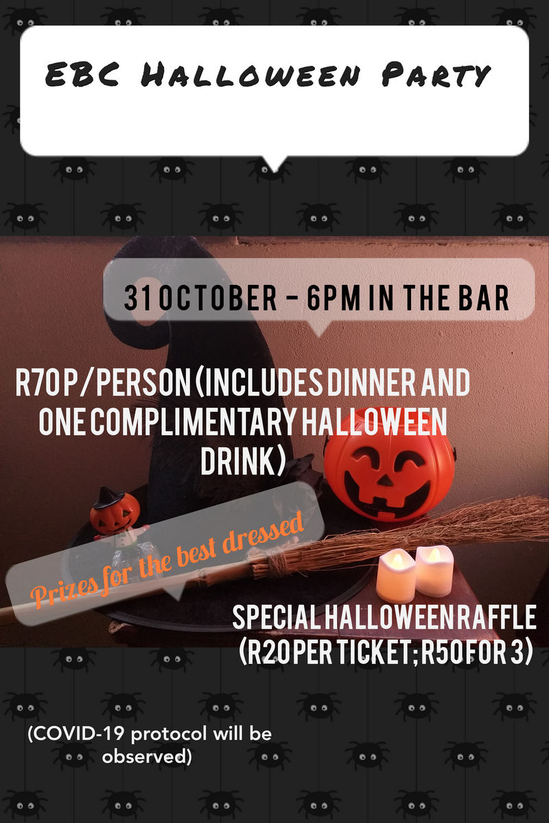 Edenvale Bowling Club Halloween Party