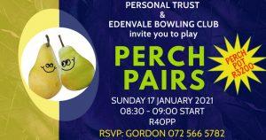 Edenvale Bowls Perch Pairs 2021